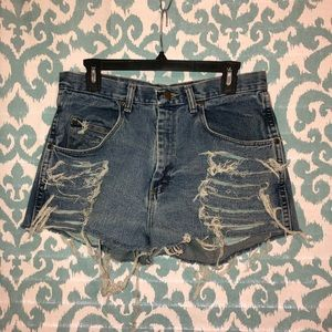 Wrangler denim shorts!